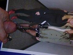 Tribute to Katie Holmes beautiful nylon legs and feet