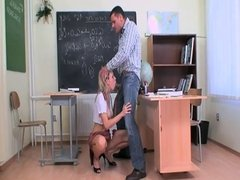 Schoolgirl fucked by teacher