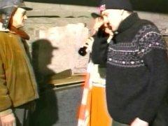 Two Old Homeless Men Assfuck Teen Runaway