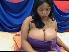 Ebony webcam: Sweet Melons