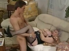 Big Titted German Mature Fucking Right