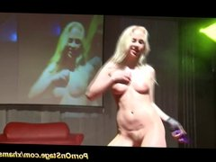crazy sex show on public stage