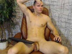 Long dick on webcam