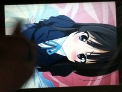 Cum tribute to Mio from K-on! (Request from ariathehentai)