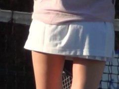 Sports Voyeurism. Tennis pulse upskirt 1