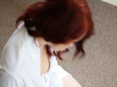Handjob while reading magazine - JOI