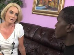 Mother cheating with big black cock