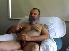 Hairy Cigar Smoking Gay Daddy