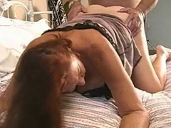american granny gets assfucked