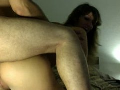 Hot blonde gets fucked in the ass