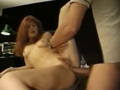Hot Red Head Fucks In Every Hole