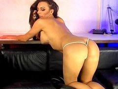 Jenna Hoskins on the Studio 66 Sofa