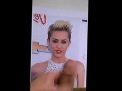 Cum tribute to Miley Cyrus
