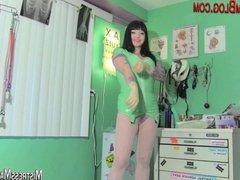 Maya delivers a femdom prostate massage