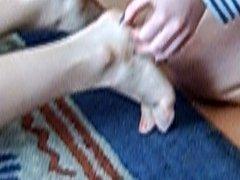 FF foot tickle Aus...