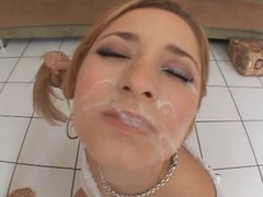 Compilation of Cum Filled Faces and Throats 3