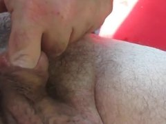 dildo in the cock hole