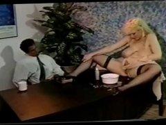 Chessy Moore desk pretzel