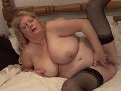 Fiona's beautifully saggy tits
