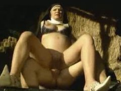 Bigger Cock - Preggo Nun