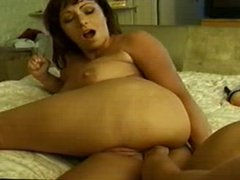 Lesbians Dual Anal and Fisting