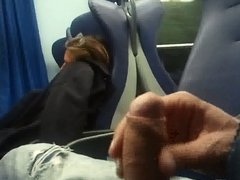 Flashing in train