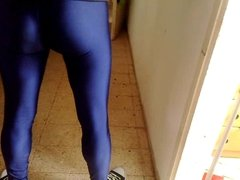 Cam record in spandex (American Apparel) leggings
