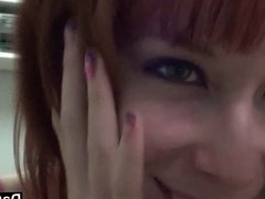 Shy Zoey Climaxes On Cam