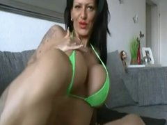 Anal Dildo For German Hot Milf Big Boobs