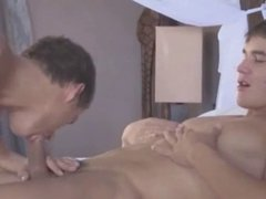 twink enjoys his buddies big cock