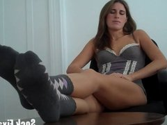 Worship stinky socks fetish