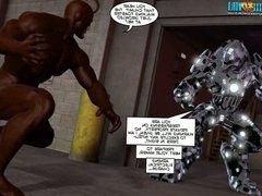 3D Comic: THE COCKROACH. EPISODE 4