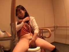 Amateur Self-shot series 079 Restroom jill off FILE4