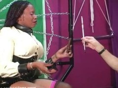 Ebony Smoking Domme