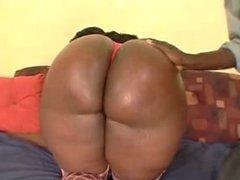 BBW ebony creampie