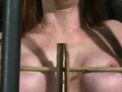 redhead milf caged teaser
