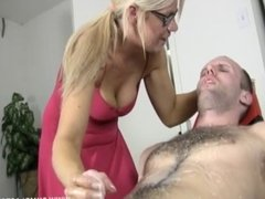 Hot Blonde Babe Gets Blasted