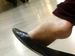 Another candid shoe dangle
