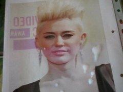 Cumshot for Miley Cyrus
