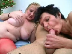 Grannies Who Get To Suck On A Cock