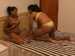 Milk Passion - Brazilian lesbians lactating
