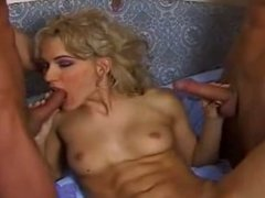 Beautiful Girl Fucked by two guys
