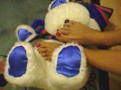 Lady Foot Tease 3