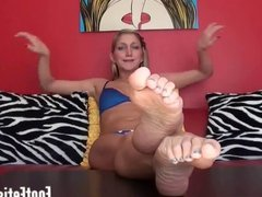 Lick my feet clean you dirty little pervert