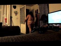 naked for pizza guy