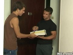 Hot young boy gets coursebooks and big hard meat