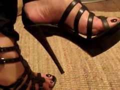 Mature French Woman Sexy Wrinkled Soles 2