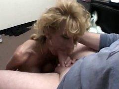 Mature Head #23 (Blonde Slut on her knees where she Belongs)