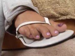 Marquetta Jewel - foot fetish