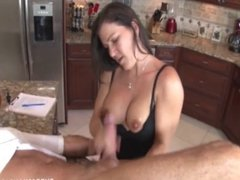 Jerking The Old Man In The Kitchen